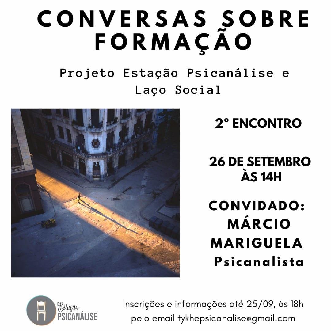 Estação Psicanálise: Conversas Sobre Formação