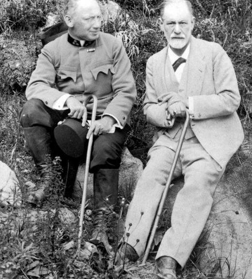 Sigmund Freud & Sándor Ferenczi